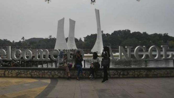 Suasana kawasan Taman Impian Jaya Ancol