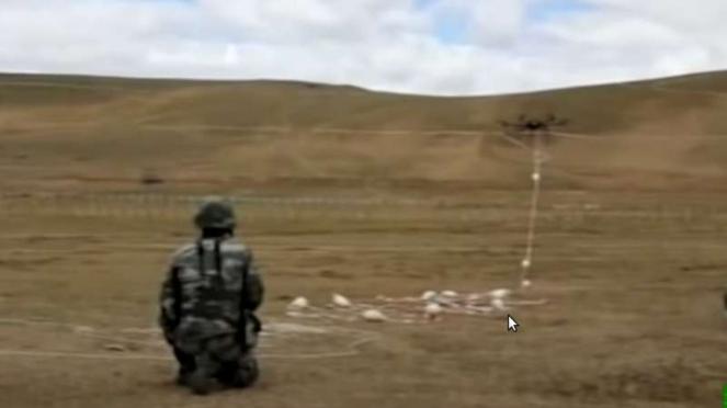 VIVA Militer : Tentara China gunakan pesawat pengintai di perbatasan India