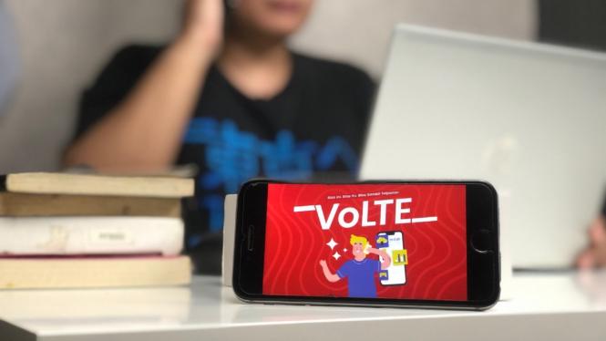Telkomsel Volte.