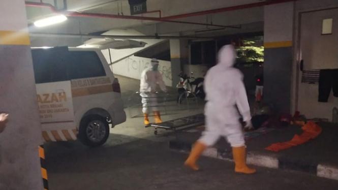 Penemuan mayat di Stadion Patriot Chandrabaga.