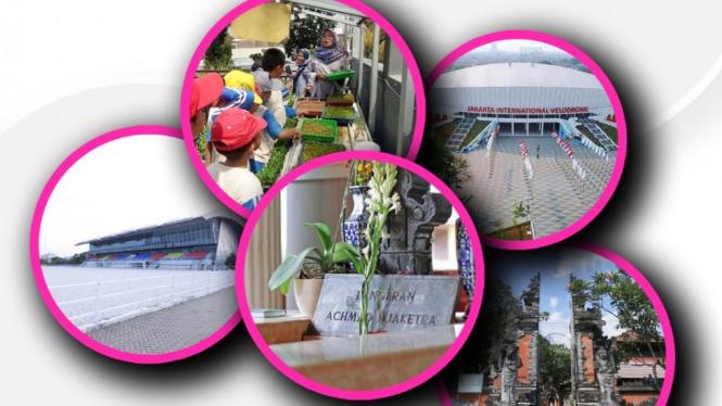 Tur virtual wisata religi dan sejarah Jakarta.