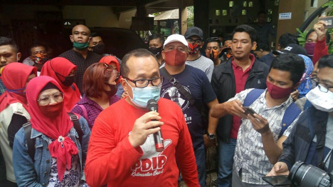 Wakil Bupati Kubu Raya mengundurkan diri.