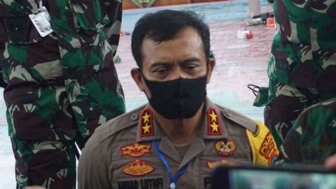 Kapolda Jawa Tengah Irjen Pol Ahmad Luthfi.