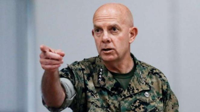 VIVA Militer: Komandan Marinir Amerika Serikat, Jenderal David Hilberry Berger