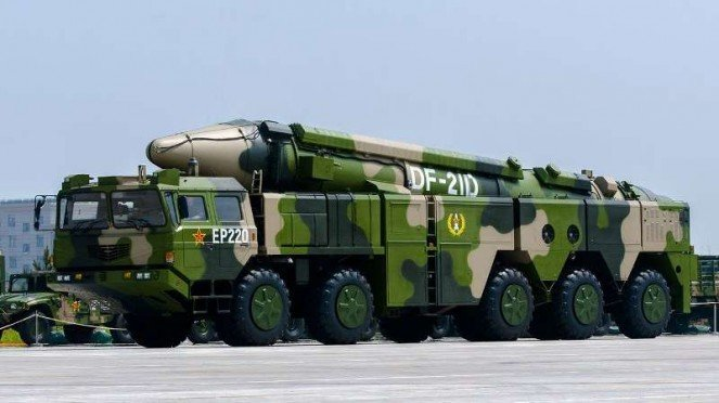 VIVA Militer: Rudal balistik China, Dongfeng DF-21D