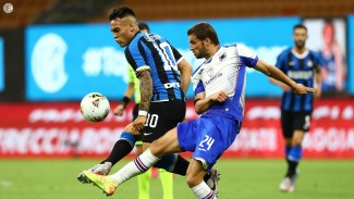 Bomber Inter Milan, Lautaro Martinez dalam duel vs Sampdoria