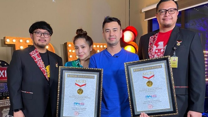 RANS Entertainment cetak rekor MURI.