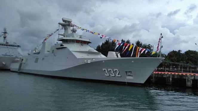 VIVA Militer: KRI I Gusti Ngurah Rai 332