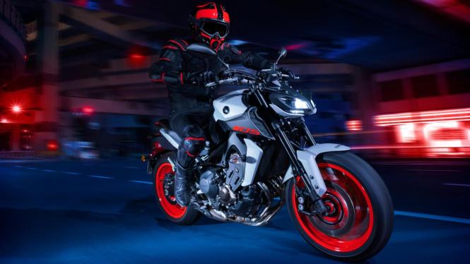Yamaha MT-09 edisi 2020
