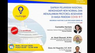 Myshipgo Gelar Indonesia Maritime Club Discussion Bahas New Normal