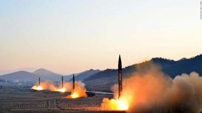 VIVA militer: Rudal balistik nuklir Korea Utara (Korut)