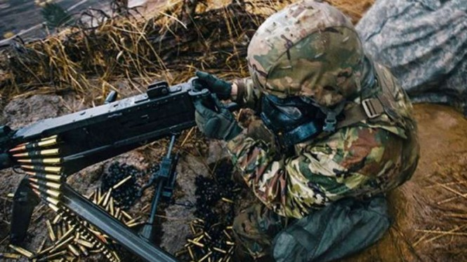 VIVA Militer: Tentara Amerika (ilustrasi)