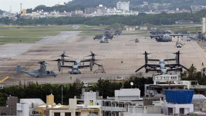 VIVA Militer: Pangkalan militer Amerika Serikat di Okinawa, Jepang