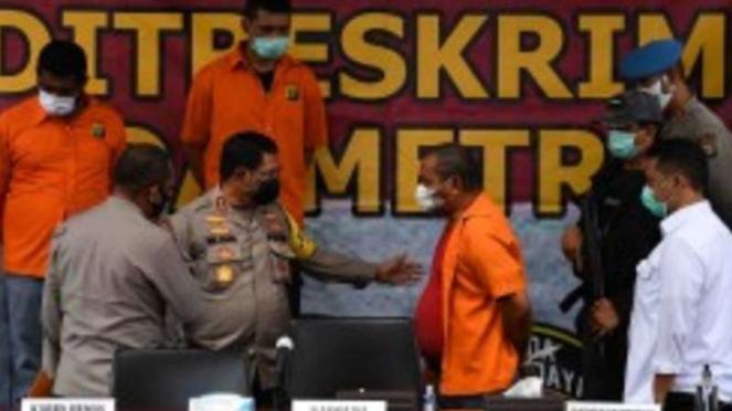 Rilis penangkapan kelompok John Kei oleh Polda Metro Jaya.