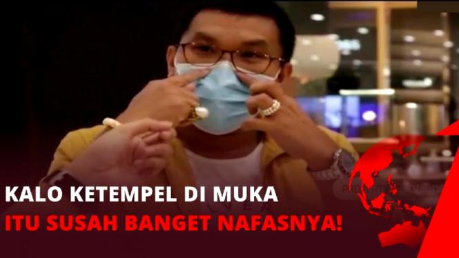 Komika Mongol minta pemerintah buat masker khusus untuk hidung pesek