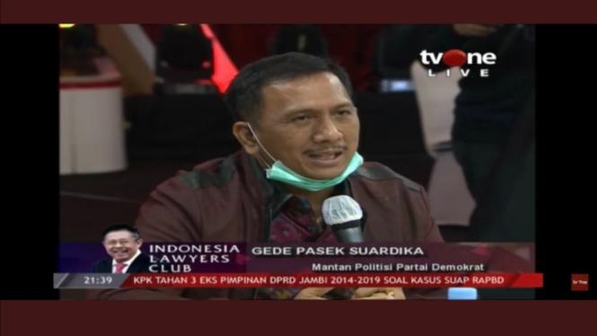 Mantan anggota Komisi III DPR, I Gede Pasek Suardika