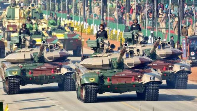 VIVA Militer: Parade militer Angkatan Bersenjata India