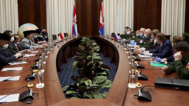 VIVA Militer: Kunjungan Menhan RI, Letjen TNI (Purn) Prabowo Subianto di Rusia