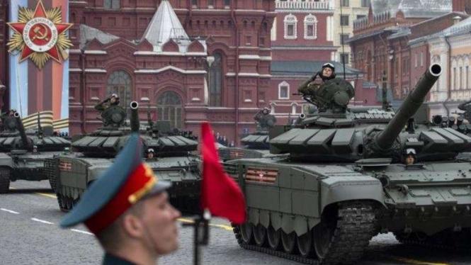 VIVA Militer: Parade militer Angkatan Bersenjata Federasi Rusia