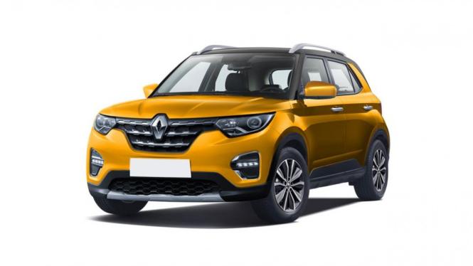 Sketsa Renault Kiger