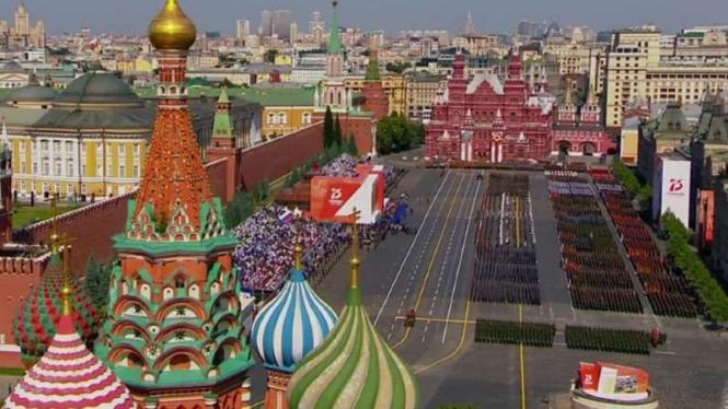 VIVA Militer: Parade militer Rusia.