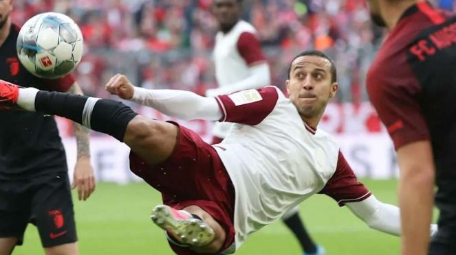 Gelandang Bayern Munich, Thiago Alcantara