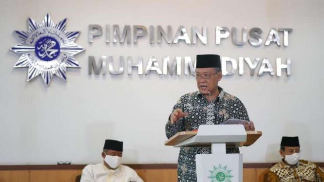 Ketua Majelis Tarjih dan Tajdid PP Muhammadiyah Syamsul Anwar.
