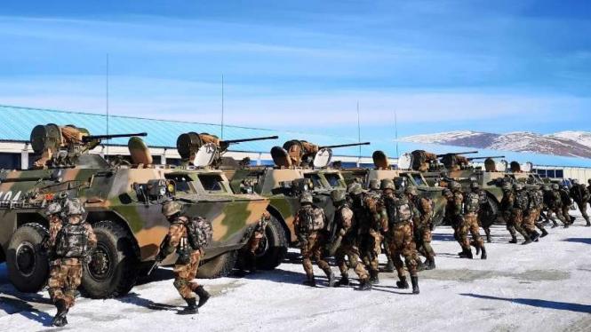 VIVA Militer: Tentara Pembebasan Rakyat China (PLA) di perbatasan China-India