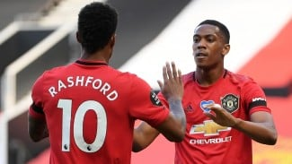 Striker Manchester United, Anthony Martial dan Marcus Rashford