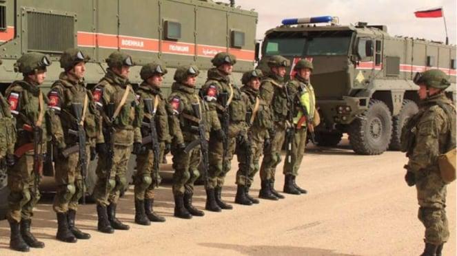 VIVA Militer: Tentara Angkatan Bersenjata Federasi Rusia di Suriah