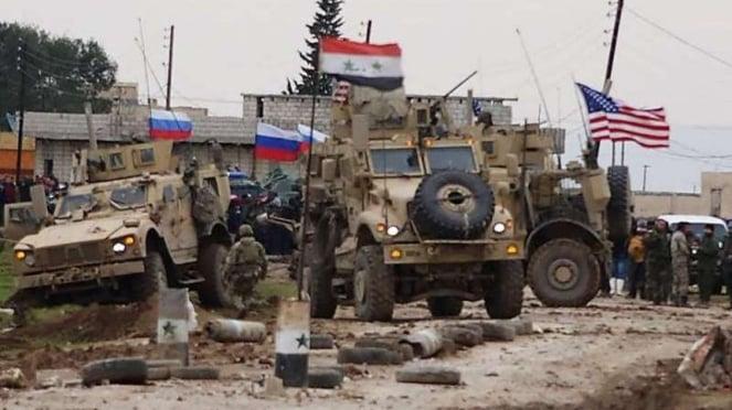 VIVA Militer: Pasukan Rusia dan Amerika Serikat di Suriah