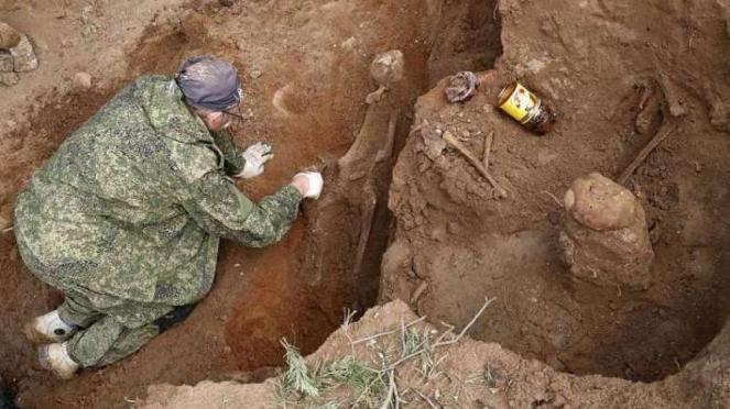 VIVA Militer: Kuburan massal tentara Nazi Jerman di Rusia