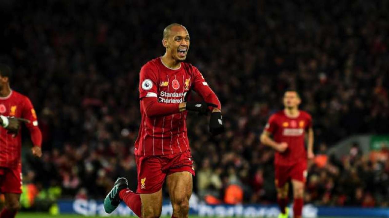 Gelandang bertahan Liverpool, Fabinho