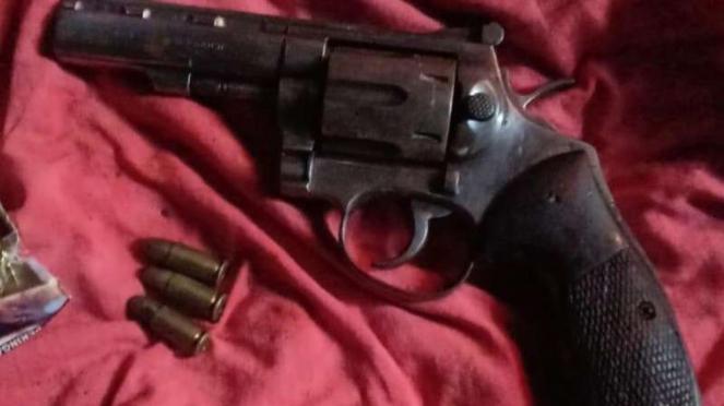 Senjata api disita dari tiga anak buah Jhon Kei yang ditangkap di Cianjur, Jabar