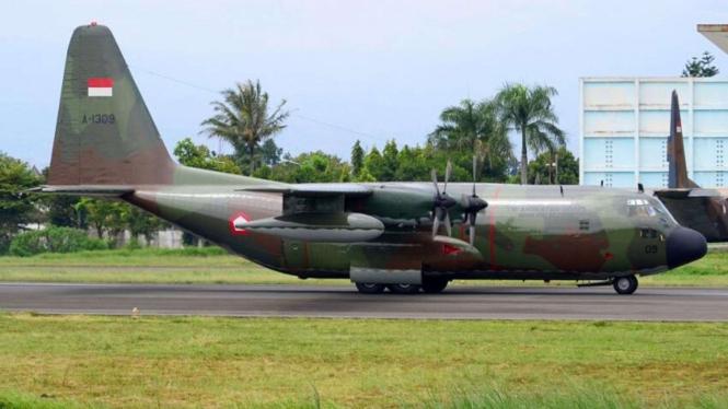 VIVA Militer: Pesawat Hercules C-130