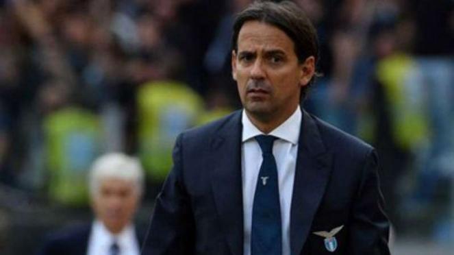 Pelatih Lazio, Simone Inzaghi.