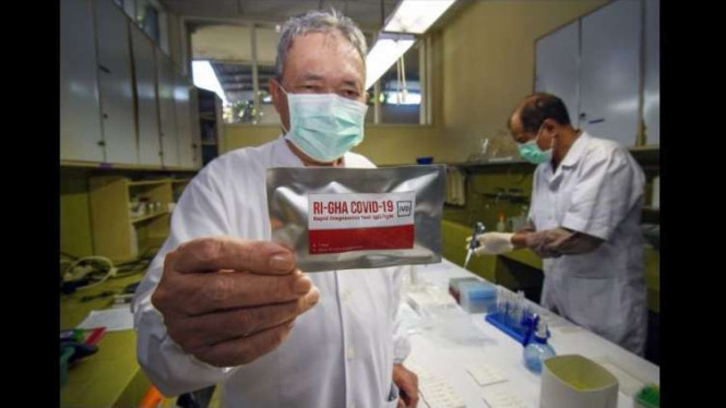 Rapid Test Virus Corona Buatan Indonesia Siap Diproduksi Massal