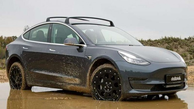 Modifikasi Tesla Model 3