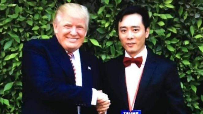 VIVA Militer: Presiden Amerika Serikat, Donald Trump, dan David Tian Wang