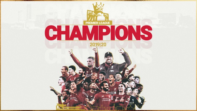Liverpool juara Premier League 19/20