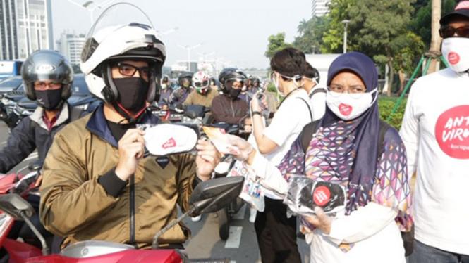 Masker Antivirus Korupsi.