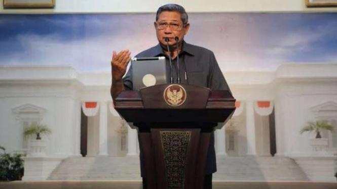 VIVA Militer: Presiden Susilo Bambang Yudhoyono.