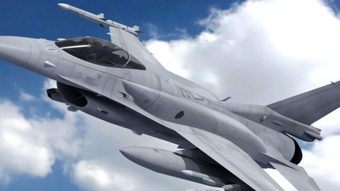VIVA Militer: Pesawat Tempur F-16 Fighting Falcon