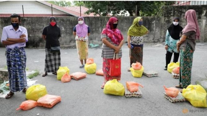 Pengungsi Rohingya di Kuala Lumpur, Malaysia.
