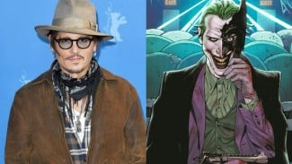 Johnny Depp dirumorkan akan memerankan tokoh Joker.