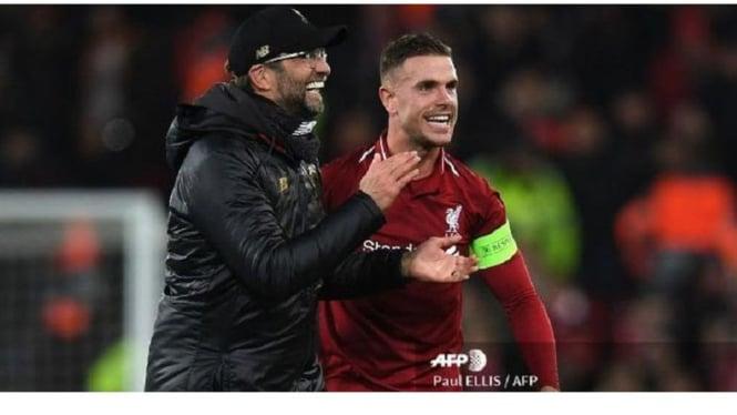 Manajer Juergen Klopp sukses membawa Liverpool juara.