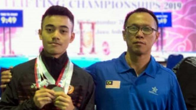 Pelatih angkat besi asal Indonesia, Yon Haryono