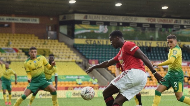 Pertandingan Norwich City vs Manchester United