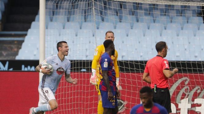 Pertandingan Celta Vigo vs Barcelona
