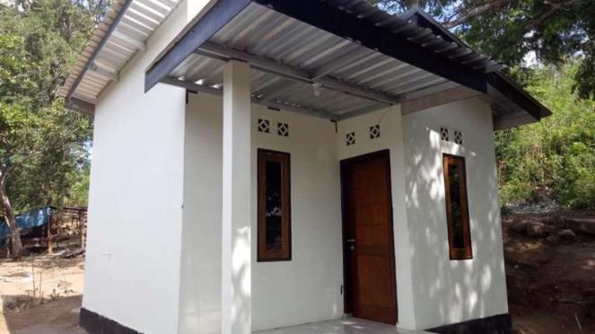 Rumah layak huni yang dibangun untuk Nenek Inaq di NTB